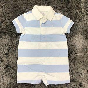 Ralph Lauren/ Boy's Bodysuit / Blue/ 3 Months